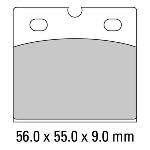 Ferodo bromsbelägg FDB108