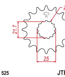 JTF520 ritning