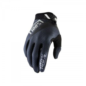 100% Handskar Ridefit Svarta