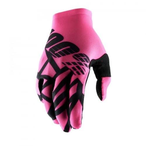 100% Handskar Celium2 Rosa/Svarta