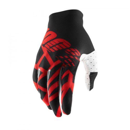100% Handskar Celium2 Svart/Röd/Vit