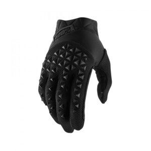 100% Handskar Airmatic Charcoal Svarta