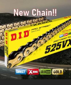 DID Kedja 525VX3 GOLD&BLACK