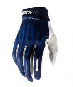 100% Handskar Ridefit. Blå, Vuxen