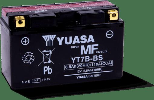 BATTERI YUASA YT7B-BS